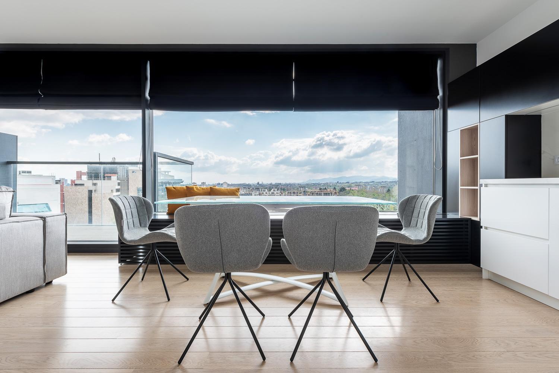 светъл и уютен интериорен дизайн на апартамент от EDO