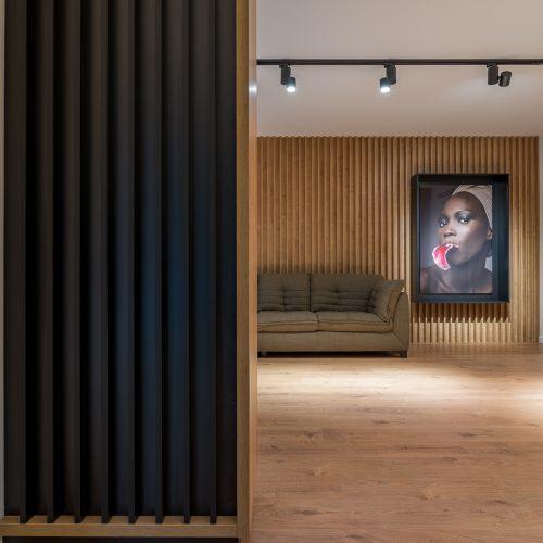 Shooting interior design of apartment.